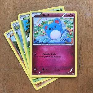 Pokémon Marill + 3 cards